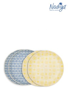 Set of 4 Nadiya Hussain Dinner Plates