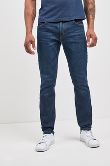 Hackett Blue Vintage Wash Regular Denim Jean