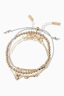 Heart And Arrow Bracelet Pack
