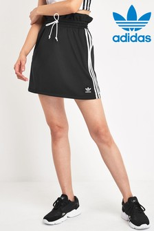 adidas Originals Black Paperbag Waist Skirt