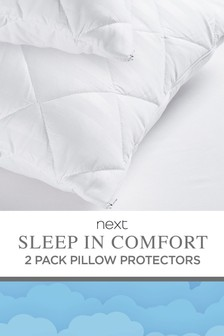 Sleep in Comfort Kissenschoner im 2er-Set