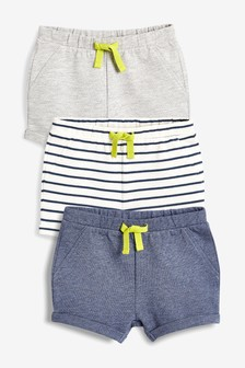 Shorts Three Pack (0mths-2yrs)