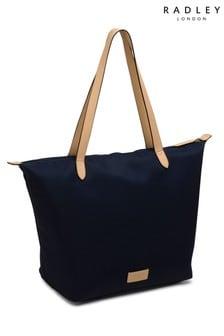 Radley London Blue Pocket Essentials Large Shoulder Bag