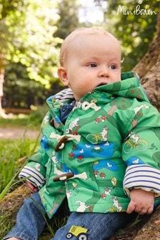 Boden Green Showerproof Duffle Coat