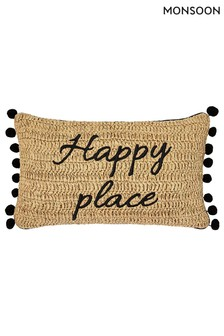 Monsoon Happy Place Cushion