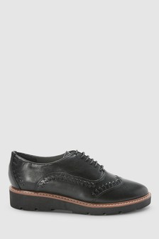 Leather EVA Sole Lace-Ups