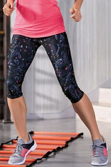 Technical Capri Legging