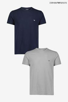 Emporio Armani Bodywear T-Shirts Two Pack