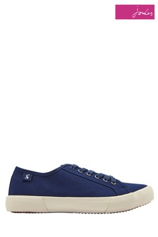 Joules Blue Coast Canvas Pump