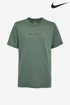 Nike Green Dri-FIT Athlete Tee