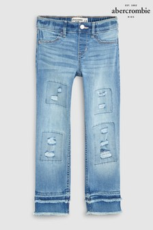 Abercrombie & Fitch Fashion Ankle Jeans, blau