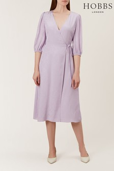 Hobbs Purple Lilah Dress
