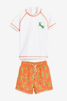 Rash Vest And Shorts Set (3mths-7yrs)