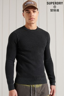 Superdry Academy Dyed Crew Jumper