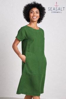 Seasalt Green Primary Dress