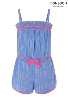 Monsoon Blue Thea Playsuit