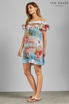 Ted Baker Pink Floral Cover Up