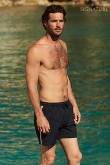 Signature Side Stripe Swim Shorts