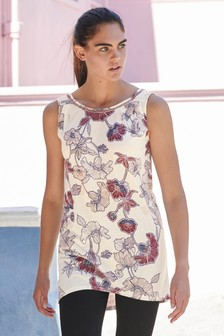 bf82d2251d8 Womens Tunic Tops | Plain & Print Tunics | Next UK