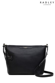 Radley Black Medium Cross Body Zip Top Bag