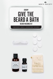Personalised Beard Washing Kit by Mens Society