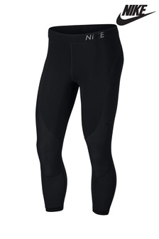 Nike Pro Black HyperCool Cropped Legging