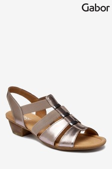 Gabor Grey Joan Sandal