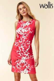 Wallis Pink Magnolia Floral Shift Dress