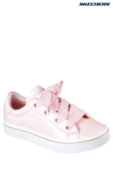 Skechers® Pink Patent Fat Lace-Up Sneaker