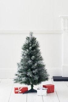 Snowy 3ft Unlit Christmas Tree