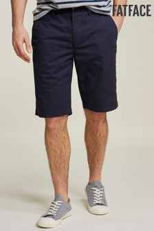 FatFace Blue Whitby Lightweight Chino Short