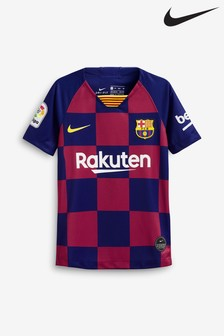 Nike Youth Navy FC Barcelona 2019/2020 Home Jersey