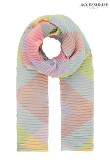 Accessorize Chevron Stripe Scarf