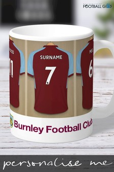Personalised Burnley Mug by Personalised Football Gifts