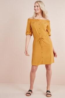 שמלת דגמ״ח ללא כתפיות