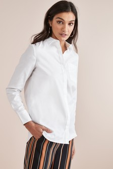 00903f8786a1 Womens Work Shirts | Printed & Lace Formal Shirts | Next UK