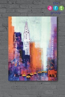 Manhattan Chrysler Building by Colin Ruffell Canvas