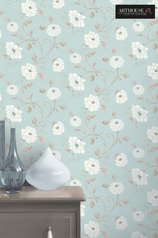 Antoinette Floral Wallpaper by Arthouse
