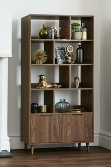 Oslo Walnut Shelving