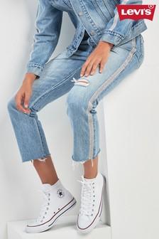 Levi's® 501® Gem Stripe Crop Jean