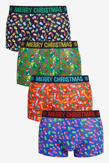 Christmas Hipsters Four Pack