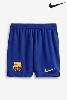 Nike Youth Navy FC Barcelona 2019/2020 Home Short