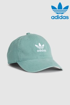 adidas Originals Kappe in Acid-Waschung, blau