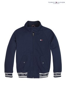 Tommy Hilfiger Boys Recycled Cotton Logo Jacket