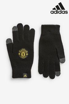 adidas Manchester Untied Black Gloves