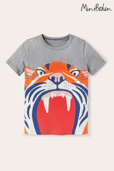 Boden Grey Animal Mouth T-Shirt