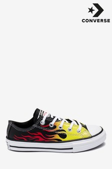 Converse Flame Chuck Low Youth Trainers