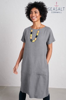 Seasalt Grey Primary Dress