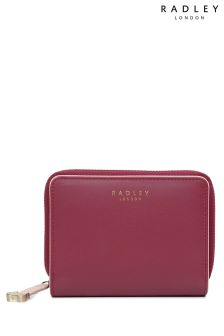 Radley Claret Medium Zip Around Purse