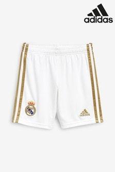adidas Youth 白色Real Madrid FC 19/20 家居短褲